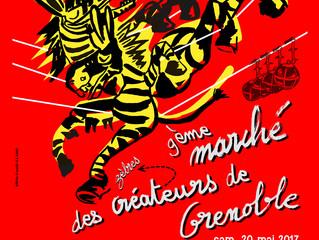 Marché des Créateurs à Grenoble samedi 20 Mai de 9h à 20h