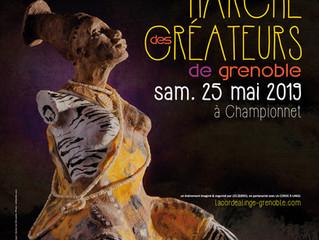 Marché Créateurs, quartier Championnet, Grenoble le 25 Mai 2019 de 9H à 20H