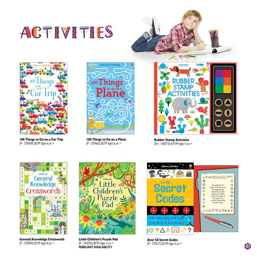 activity things to do