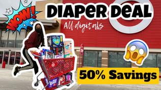 🔥Target diaper deal
