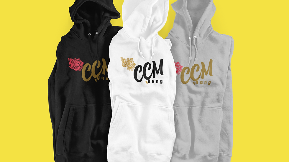 CCM Gang Hoodie (Rose Edition)