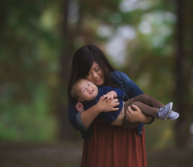 Mother holding child, Macomb County Michigan, newborn, children, family, senior portraits