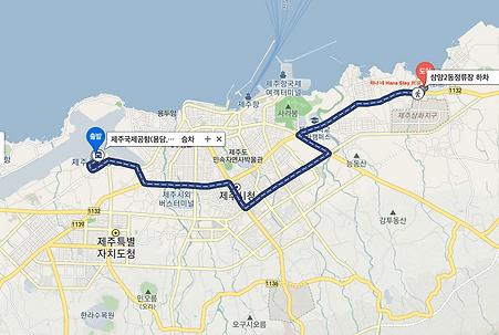 하나 네 Hana Stay 民宿 map.png