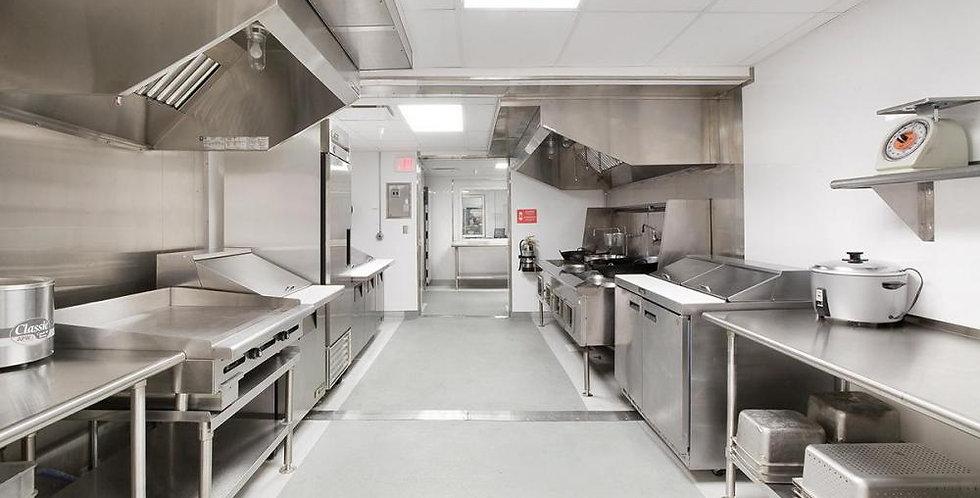 Cozinha profissional a partir de...