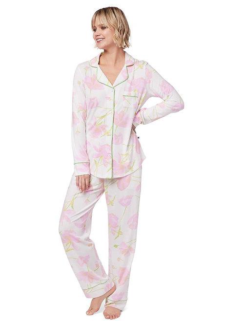 The Cat's Pajamas Emma Rose Pima Knit Pajama