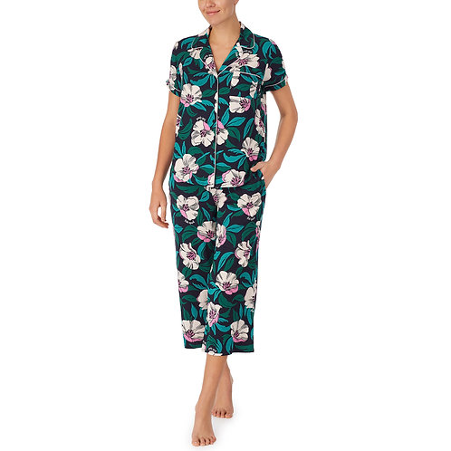 Kate Spade Tropic Floral Capri PJ Set
