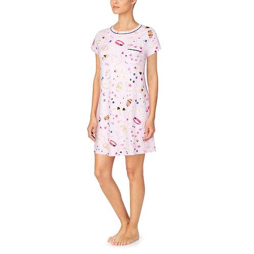 Kate Spade Jewelry Toss Short Sleeve Sleepshirt