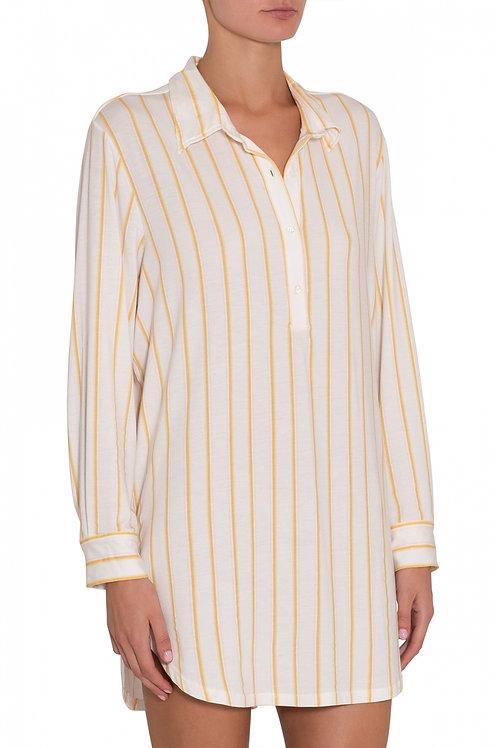 Eberjey Summer Stripes Boyfriend Sleepshirt