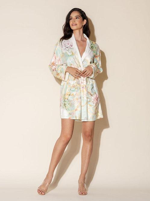 Wrap Up La Boheme Short Robe