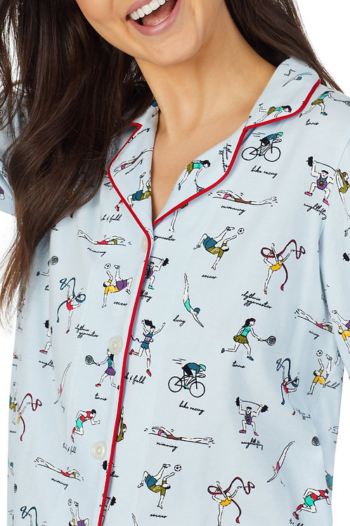Bedhead Olympic Games Long Sleeve Classic Stretch Jersey PJ Set