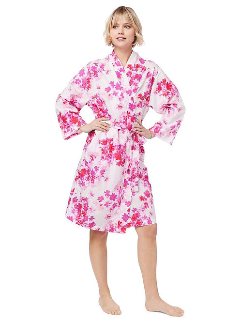 The Cat's Pajamas Aster Luxe Pima Kimono Robe