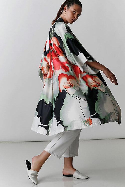 Natori Exotic Poppy Print Robe
