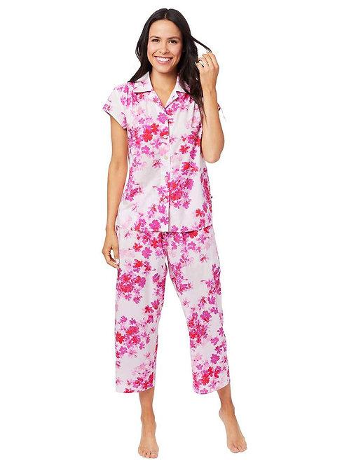 The Cat's Pajamas Aster Luxe Pima Capri Pajama