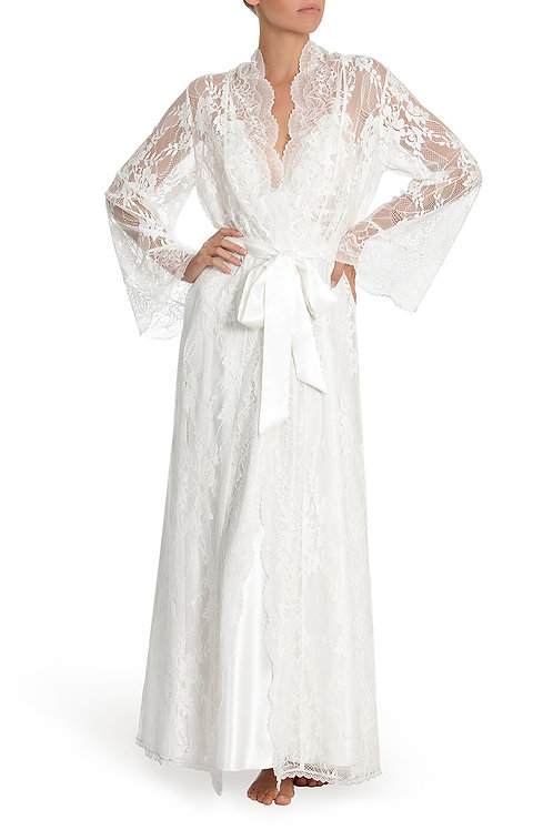 Jonquil Colette Lace Robe