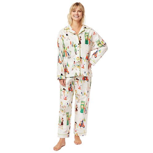 The Cat's Pajamas Holiday Hipster Flannel Pajama