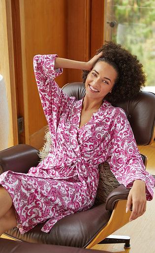 The Cat's Pajamas Queen Anne Knit Kimono