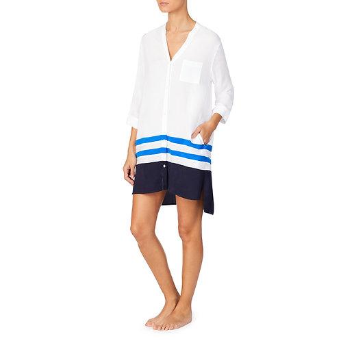 Donna Karan Woven Sleepshirt