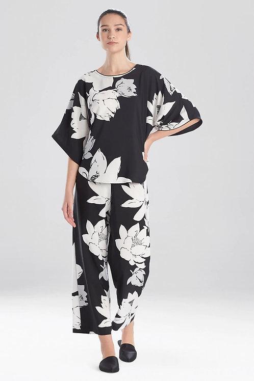 Natori Lotus Print Pull Over Pajama Set