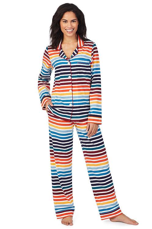 Bedhead On The Horizon Long Sleeve Knit Classic PJ Set