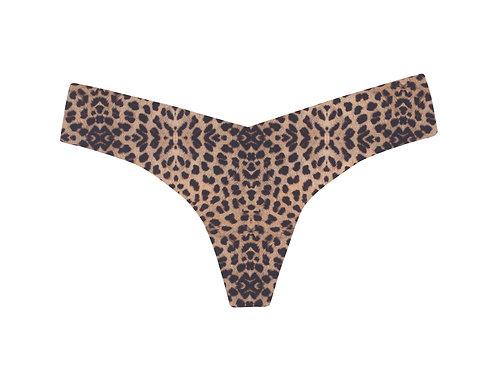 Commando Classic Print Clouded Leopard Thong