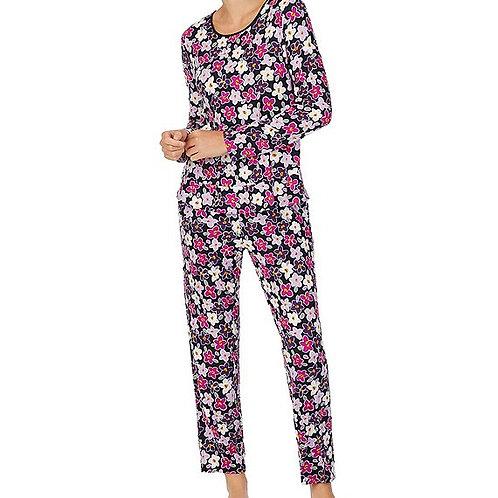 Kate Spade Painted Pansy Pajama Set