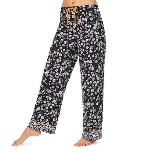 Room Service Washed Satin Long Pajama Pant