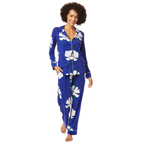 The Cat's Pajamas Icelandic Poppy Pima Knit Pajama