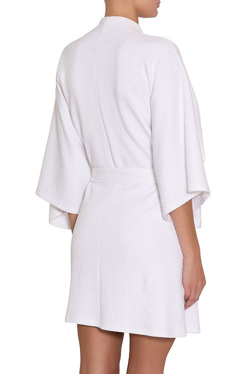 Eberjey Zen Short Spa Robe