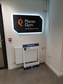 Back Lit LED Reception Signage