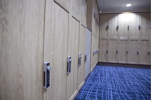Lockers/Washrooms