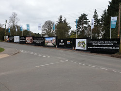 Hoardings and Flags