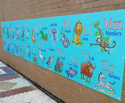 Interactive Playground Murals