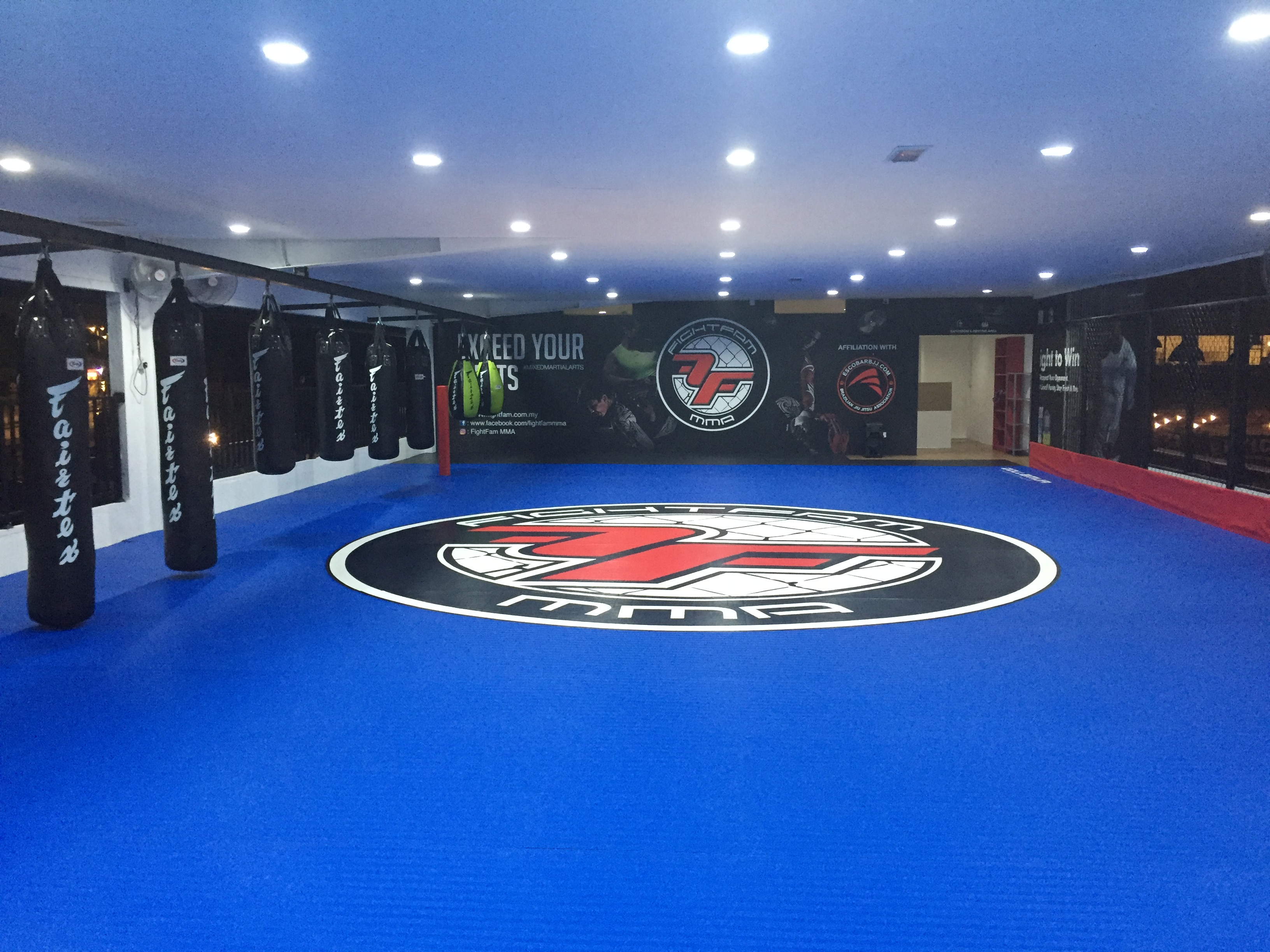 New affiliation gym in kepong brazilian jiu jitsu mma