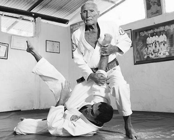 Master Helio Gracie