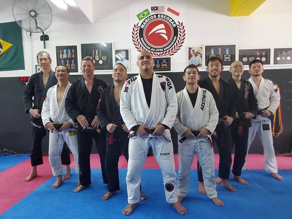 Jiu-Jitsu Black Belts - MEBJJA Malaysia