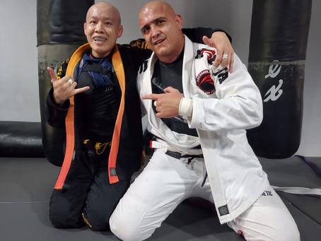 Jiu-Jitsu tapping Cancer