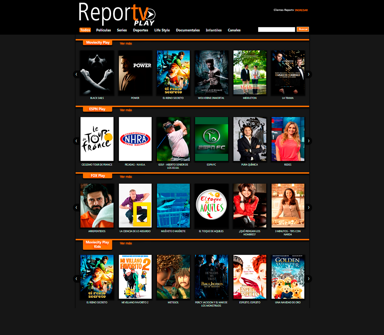 Reportv Play