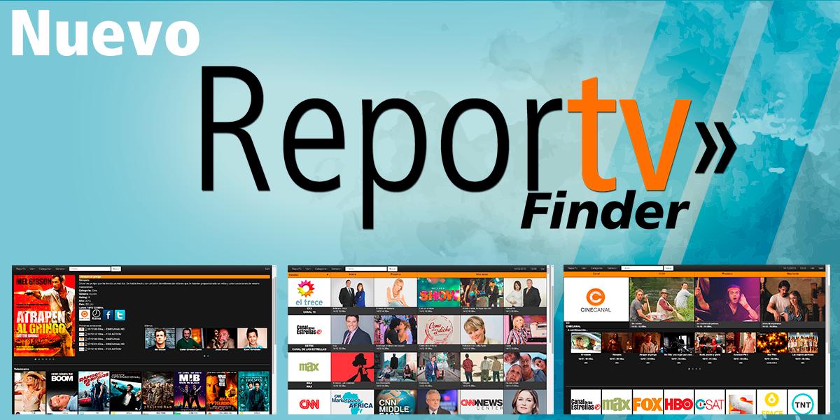 Nuevo Reportv Finder