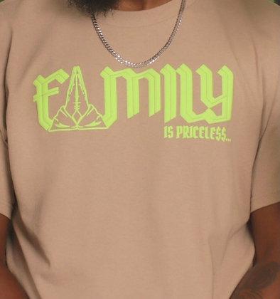 FAMILY IS PRICELE$$... NEON 3D TEE
