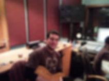 Sheron in studio