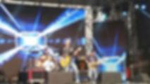 Sheron and band at Aardklop