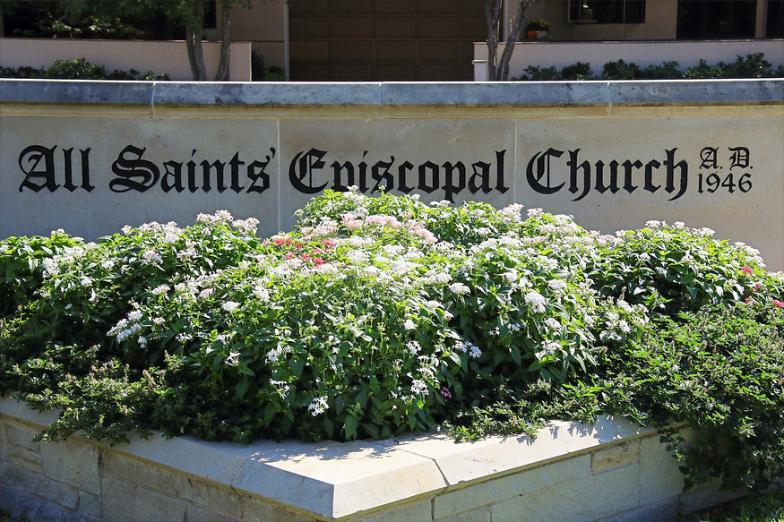All-Saints'-Episcopal-Church-Sign-Fort-W