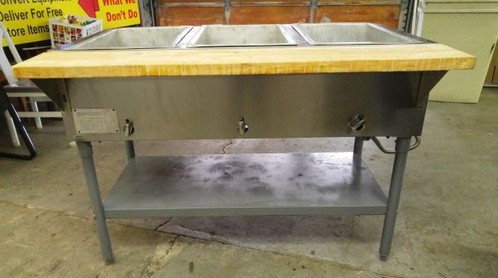 Good Eagle Steam Table