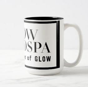 Glow Medspa Coffee Mug White/Black