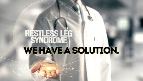 We Can Stop RLS / Restless Leg Syndrome. Because We Know The Cause