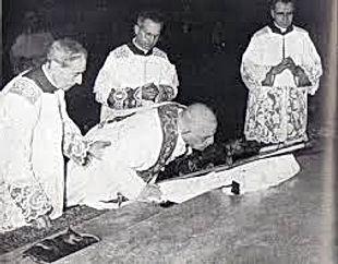 John XXIII pre1955 Holy Week