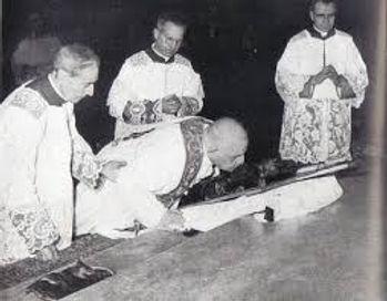 Giovanni XXIII Settimana Santa Antica