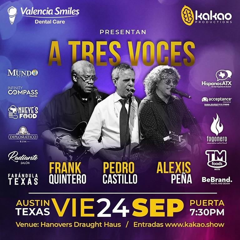 FRANK QUINTERO, PEDRO CASTILLO Y ALEXIS PEÑA JUNTOS