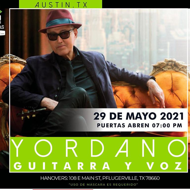 YORDANO: GUITARRA Y VOZ