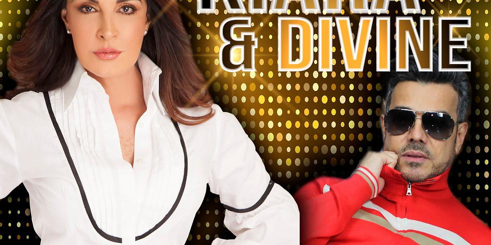 Kiara y Divine en concierto